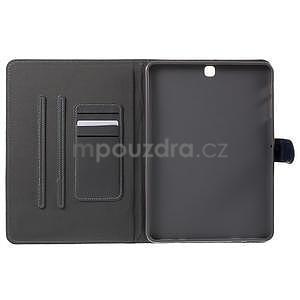 Flatense štýlové puzdro pre Samsung Galaxy Tab S2 9.7 - šedé - 5