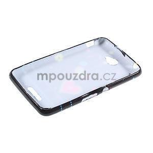 Gelový obal na Sony Xperia E4 - srdce - 5