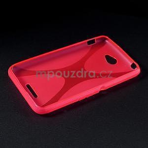Gelový x-line obal na Sony Xperia E4 - rose - 5