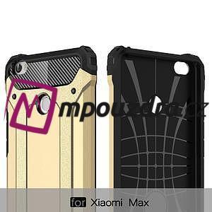 Guard odolný obal pre mobil Xiaomi Mi Max - strieborny - 5