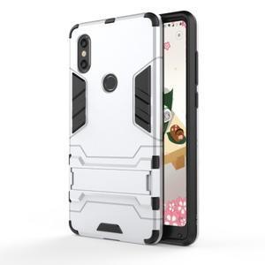 Guard odolný hybridný obal na mobil Xiaomi Mi Mix 2s - strieborný - 5