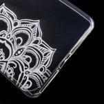 Ultratenký gélový obal pre Sony Xperia E5 - mandala - 5/5