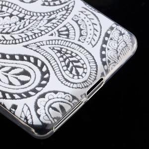 Ultratenký gélový obal pre Sony Xperia E5 - krajky II - 5