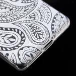 Ultratenký gélový obal pre Sony Xperia E5 - krajky II - 5/5