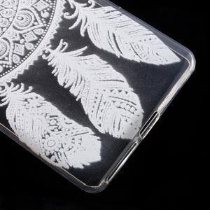 Ultratenký gélový obal na Sony Xperia E5 - lapač snů - 5