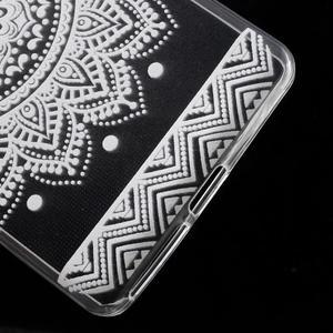 Ultratenký gélový obal na Sony Xperia E5 - mandala III - 5