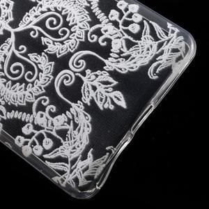 Ultratenký gélový obal na Sony Xperia E5 - krajky IV - 5