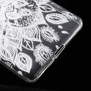 Ultratenký gélový obal na Sony Xperia E5 - lístky - 5