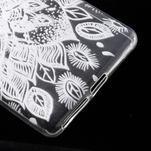 Ultratenký gélový obal na Sony Xperia E5 - lístky - 5/6