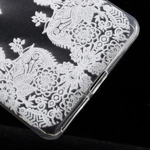 Ultratenký gélový obal na Sony Xperia E5 - krajky III - 5