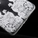 Ultratenký gélový obal na Sony Xperia E5 - krajky III - 5/5