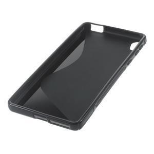 S-line gélový obal na mobil Sony Xperia E5 - černý - 5