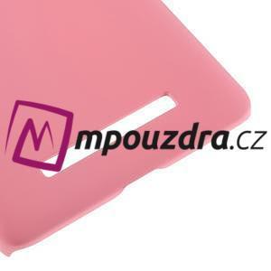 Pogumovaný plastový obal pre Xiaomi Mi4c/Mi4i - ružový - 5