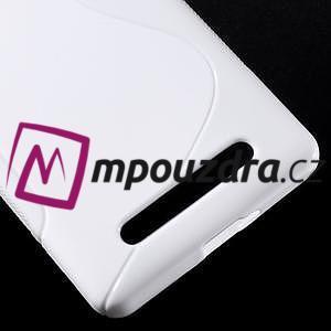 S-line gelový obal na mobil Xiaomi Mi4c/Mi4i - bílý - 5