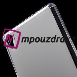 Matný gelový obal na Sony Xperia XA Ultra - transparentní - 5