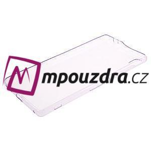 Ultratenký gélový obal pre mobil Sony Xperia XA Ultra - fialový - 5