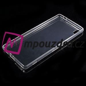 Ultratenký gelový obal na mobil Sony Xperia XA Ultra - transparentní - 5