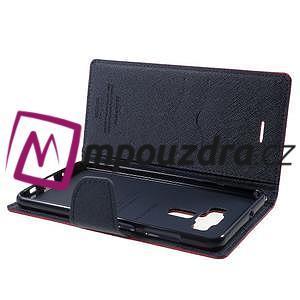 Diary PU kožené puzdro pre mobil Asus Zenfone 3 Deluxe - rose - 5