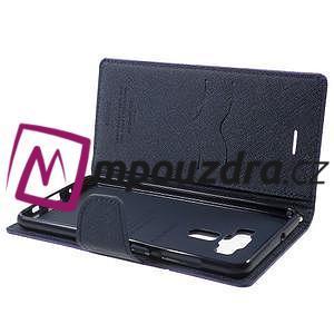 Diary PU kožené puzdro pre mobil Asus Zenfone 3 Deluxe - fialové - 5