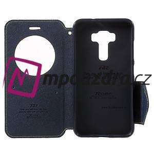 Diary puzdro s okýnkem na mobil Asus Zenfone 3 ZE520KL - zelené - 5