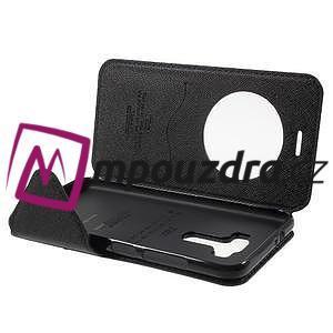 Diary puzdro s okýnkem na mobil Asus Zenfone 3 ZE520KL - tmavěmodré - 5