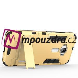 Odolný obal pre mobil Asus Zenfone 3 ZE520KL - strieborný - 5