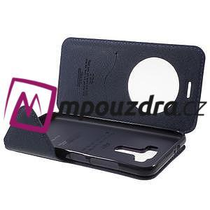 Diary puzdro s okýnkem na mobil Asus Zenfone 3 ZE520KL - fialové - 5