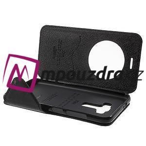 Diary puzdro s okýnkem na mobil Asus Zenfone 3 ZE520KL - čierne - 5