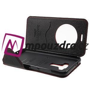Diary puzdro s okýnkem na mobil Asus Zenfone 3 ZE520KL - červené - 5