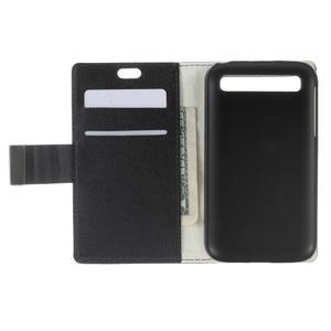 Peňaženkové puzdro pre mobil BlackBerry Classic - čierné - 5
