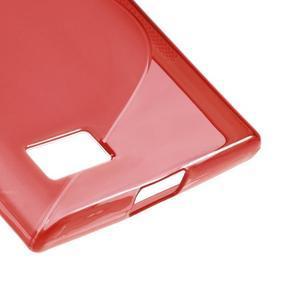 S-line gélový obal pre mobil BlackBerry Leap - červený - 5