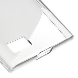 S-line gélový obal pre mobil BlackBerry Leap - šedý - 5