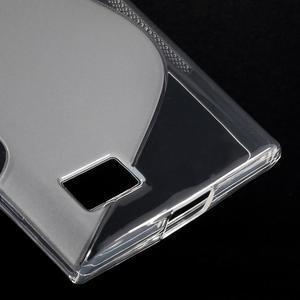S-line gélový obal pre mobil BlackBerry Leap - transparentný - 5