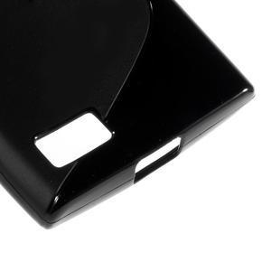 S-line gelový obal na mobil BlackBerry Leap - černý - 5