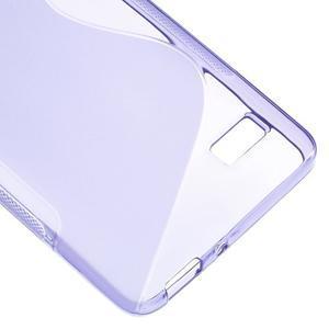 S-line gélový obal pre mobil Honor 4C - fialový - 5