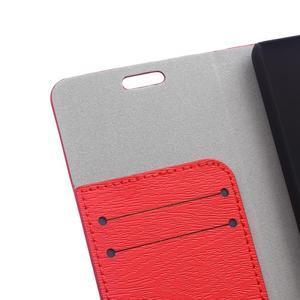 Peněženkové pouzdro na mobil Honor 4C - červené - 5