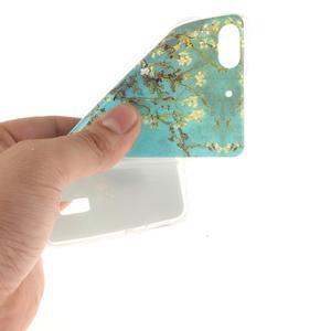 Gelový obal na mobil Honor 4C - kvetoucí strom - 5