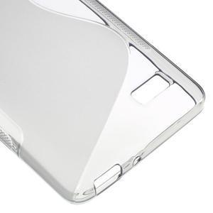 S-line gélový obal pre mobil Honor 4C - šedý - 5