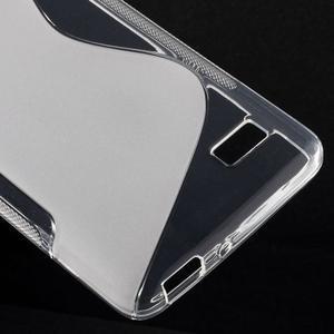 S-line gelový obal na mobil Honor 4C - transparentní - 5