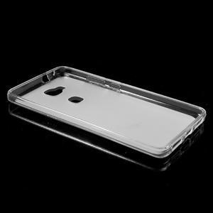 Matný gelový obal na mobil Honor 5X - transparentní - 5