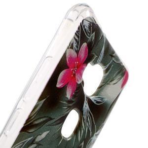 Drop gelový obal na Huawei Honor 5X - květiny - 5