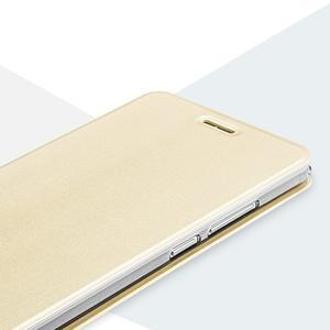 Vintage pouzdro na mobil Honor 5X - zlaté - 5