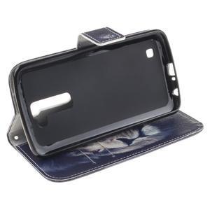 Peněženkové pouzdro na mobil LG K10 - lev - 5