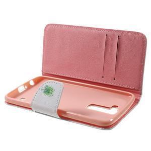 Wall peňaženkové puzdro pre LG K10 - strom - 5