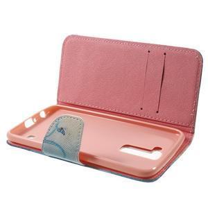 Wall peňaženkové puzdro pre LG K10 - motýľ - 5