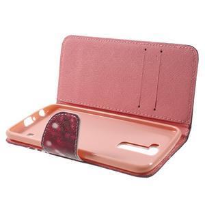 Wall peňaženkové puzdro pre LG K10 - Keep Calm - 5