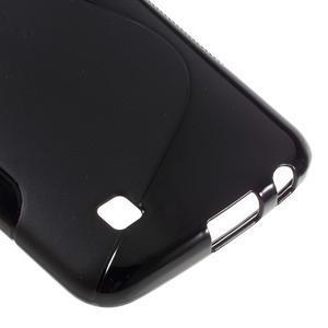 S-line gélový obal pre mobil LG K10 - čierny - 5