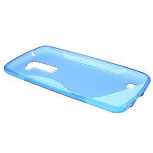 S-line gelový obal na mobil LG K10 - modrý - 5