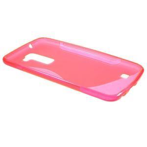 S-line gélový obal pre mobil LG K10 - rose - 5