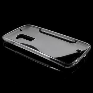 S-line gélový obal pre mobil LG K10 - transparentný - 5
